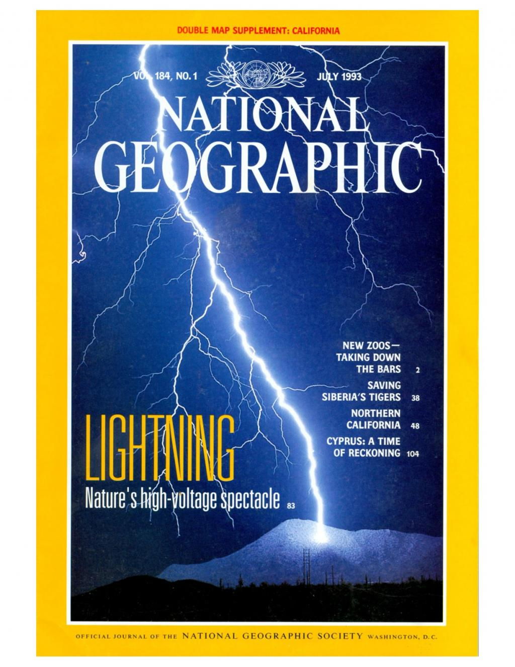 Preview of Lightning - Nature's High Voltage Spectacle article