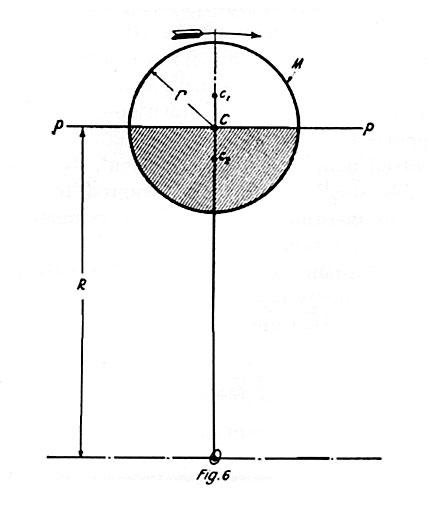 Tesla diagram related to the motion of the moon