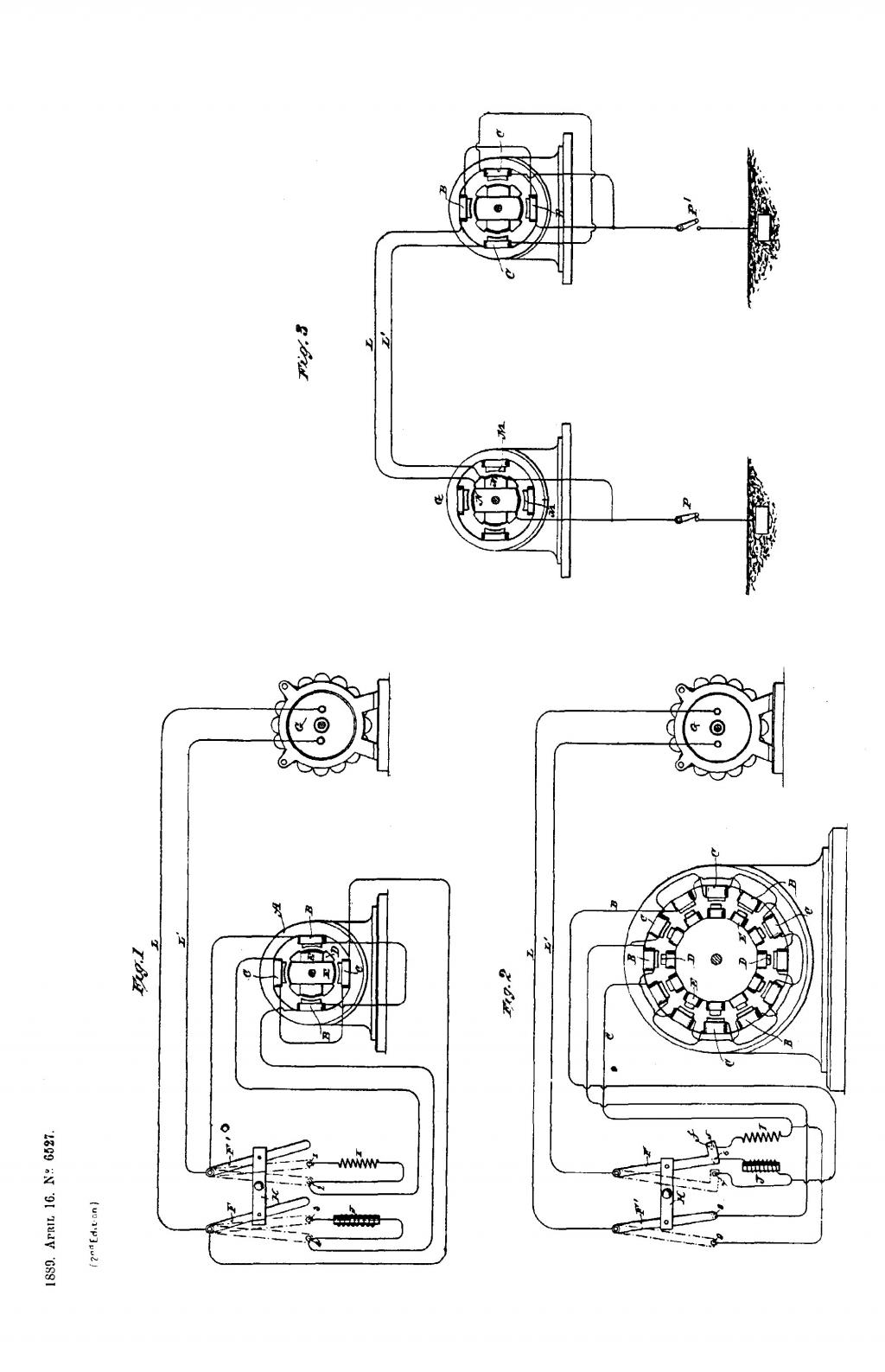 Nikola Tesla British Patent 6527 - Improvements relating to Electro-Motors - Image 1
