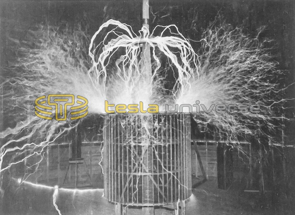 Colorado Springs oscillator discharge from brass ring on top of extra coil