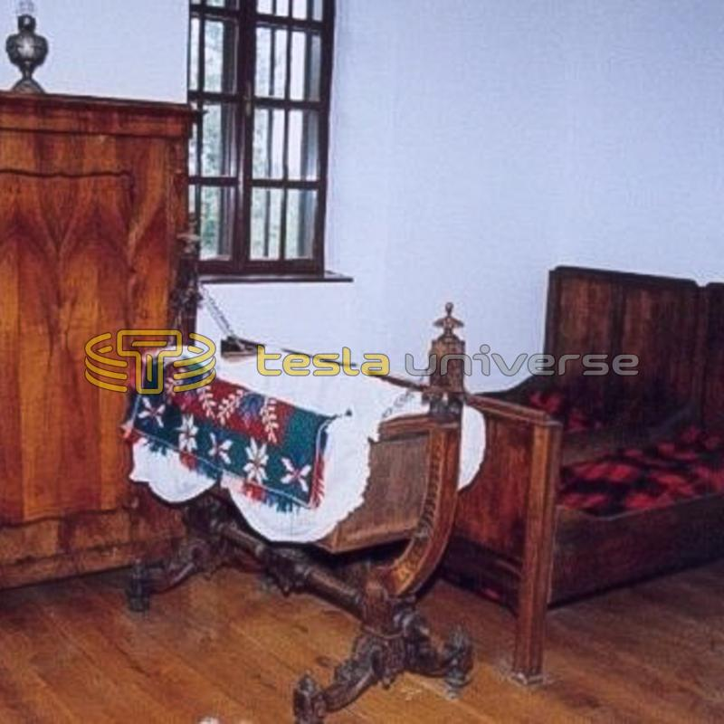 Interior view of Tesla's birthplace